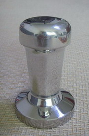 polished coffee tamper